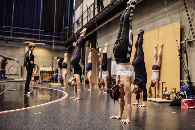 Photo : École nationale de cirque